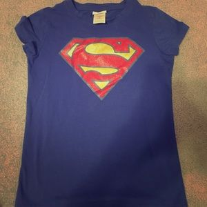 Other - Super girl t shirt size M 7/8